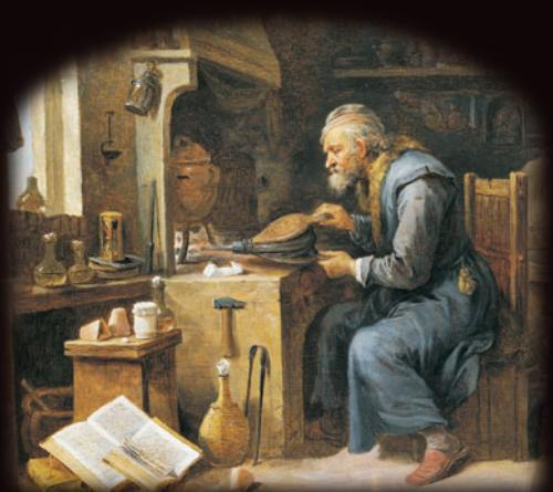 Eye Candy: The Alchemist, by David Teniers